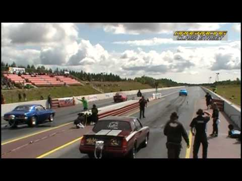 Dragracing NHK Nationals 17-19 jun 2011 Sundsvall Raceway