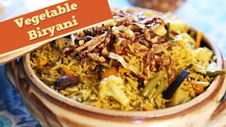 Vegetable Biryani | Simple & Easy To Make Main Course Rice Recipe | Divine Taste With Anushruti