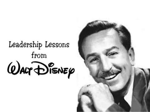 walt disney transformational leadership