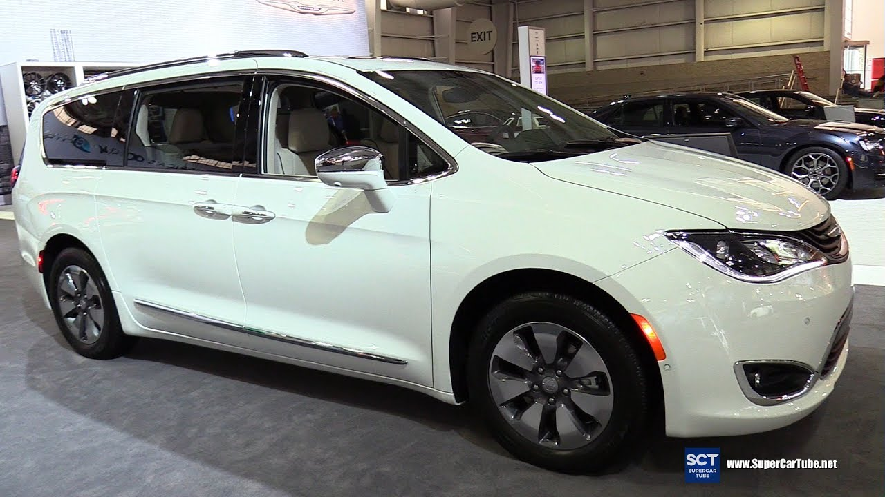 2017 Chrysler Pacifica Hybrid Exterior And Interior Walkaround New York Auto Show