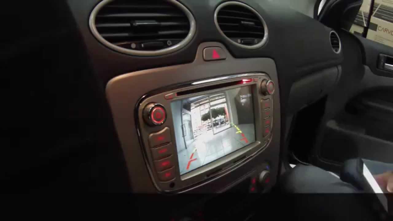 ford focus navigasyon dvd multimedya sistemi montaji