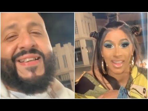 DJ Khaled Pulls Up On Cardi B After The Industry Said He Couldnt Get A Feature