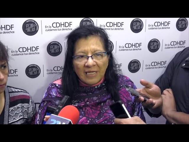 Entrevista a la Presidenta de la CDHDF, Nashieli Ramírez Hernández,
