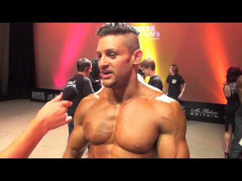 Lex Fitness: MUSCLEMANIA FITNESS BRITAIN 2012 Interview, Posing, Bodybuilder, Ripped, Competition