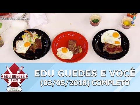 Edu Guedes Ensina Receita De Filé à Cubana E Arroz à Grega