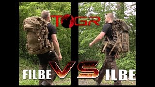 Which is the most Comfortable? FILBE vs ILBE Military Rucksacks - Versus Ep2