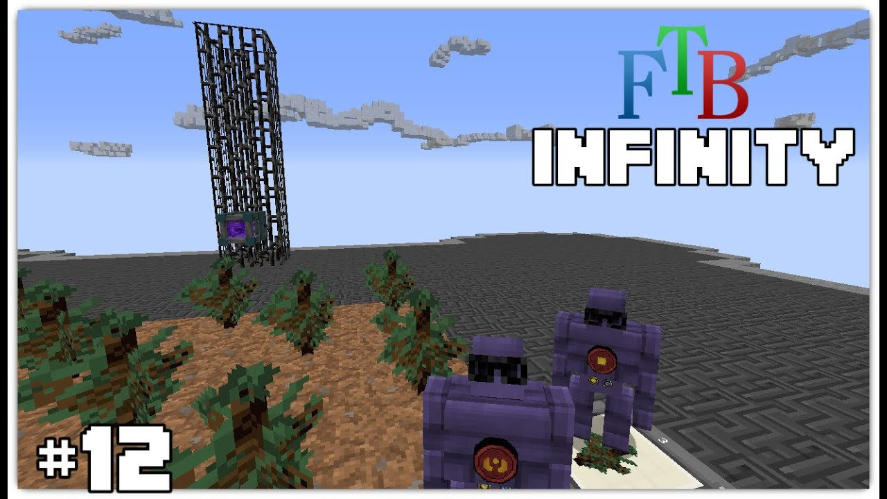Tree farm minecraft ftb infinity guide