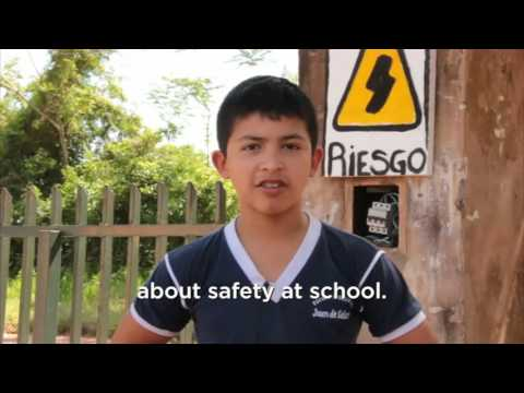 Helping children in Paraguay prepare for emergencies