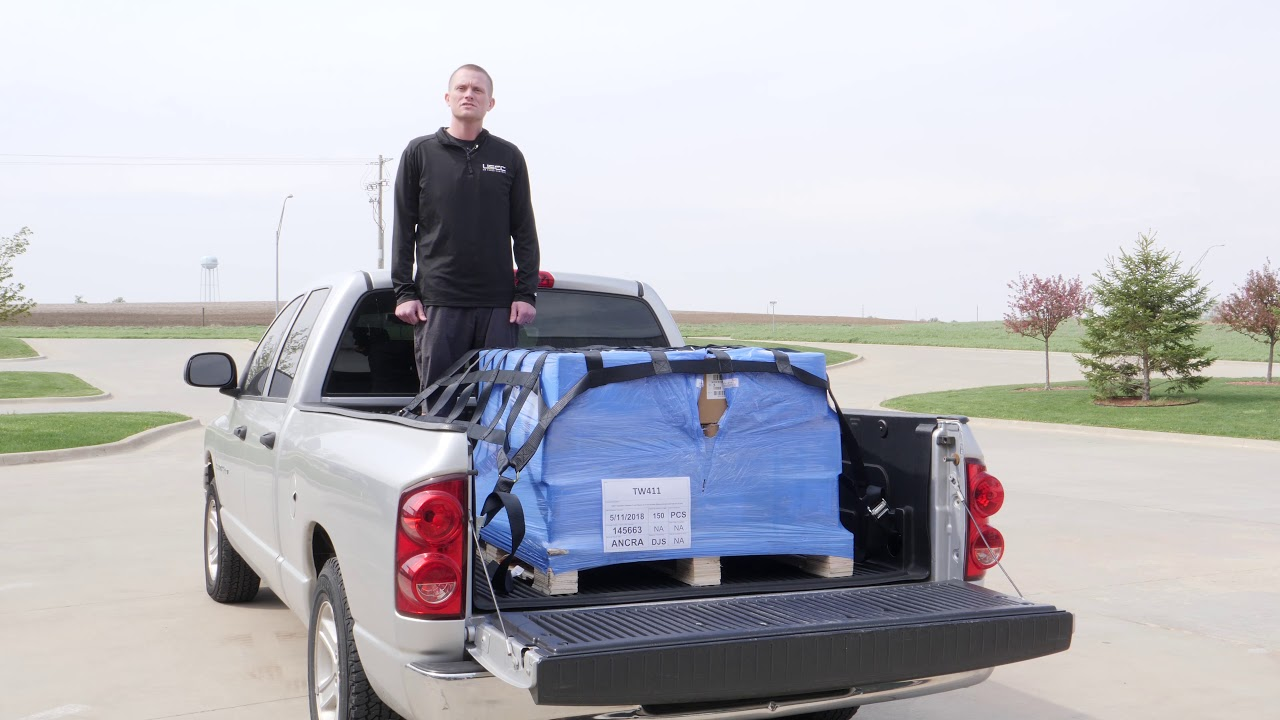 Safe And Secure Transport With Truck Bed Cargo Net Youtube