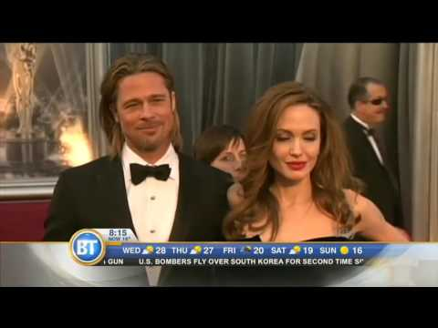 Video: George Clooney and Adele react to the Brangelina split