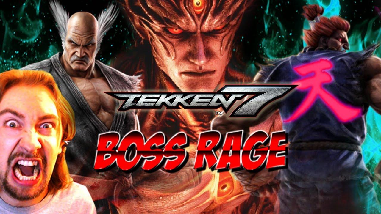 BOSS RAGE: Shin Akuma & Devil Kazuya (Tekken 7) #1