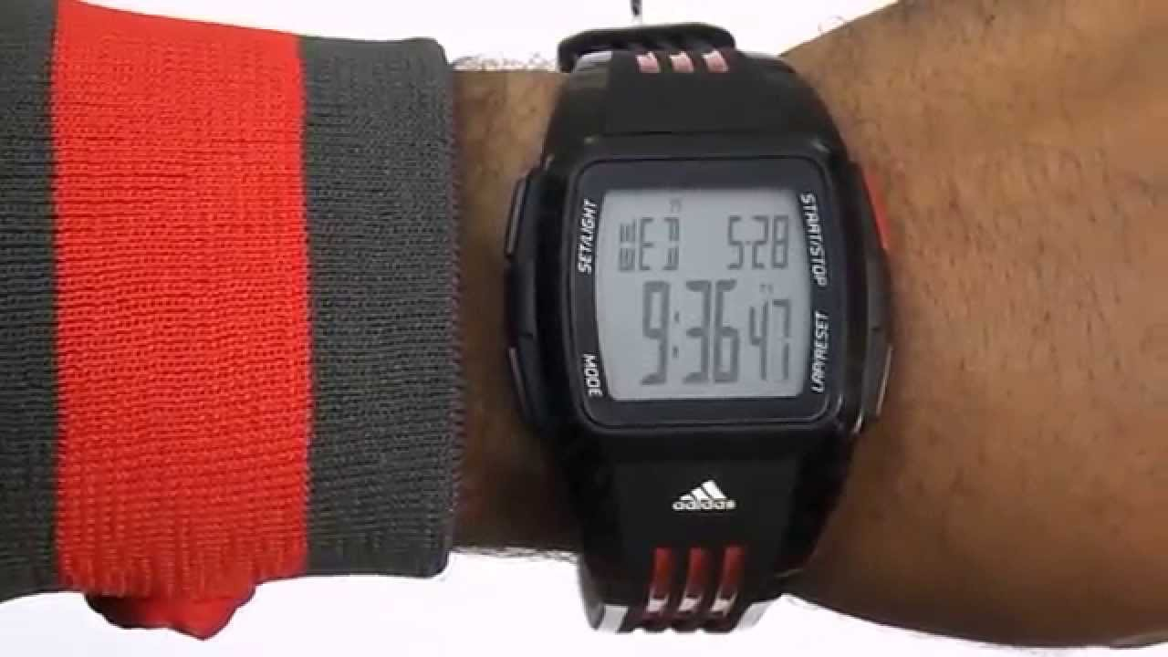 a322c65d4ec Relogio Adidas Unissex Adp6010 z - YouTube