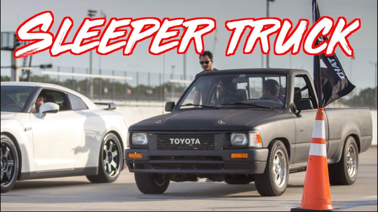 Sleeper Toyota Pickup Truck Surprises Everyone Mclaren 720s Gtr 300zx
