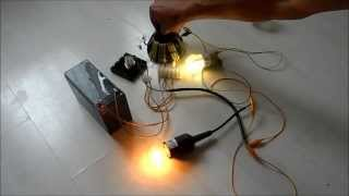 killer joule thief 12v 220v 16 25 60 watt light quest for overunity free energy part 2