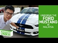 Unboxing The FORD MUSTANG In Malaysia! #smashpopUNBOX