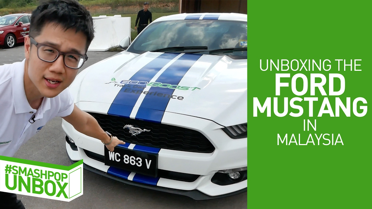 Unboxing the ford mustang in malaysia smashpop