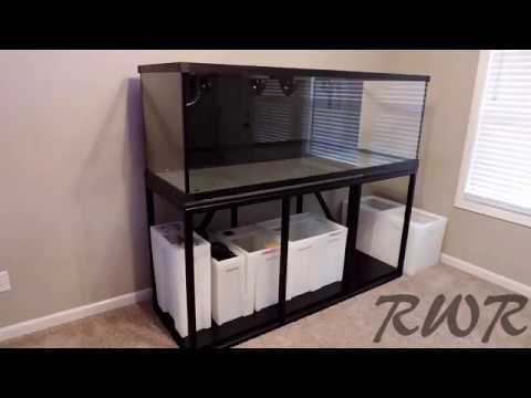So It Begins - Tank, Stand, And Sump Overview