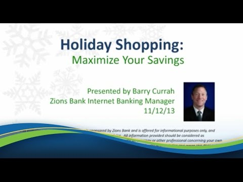 Holiday Shopping: Maximize Your Savings [Webinar]