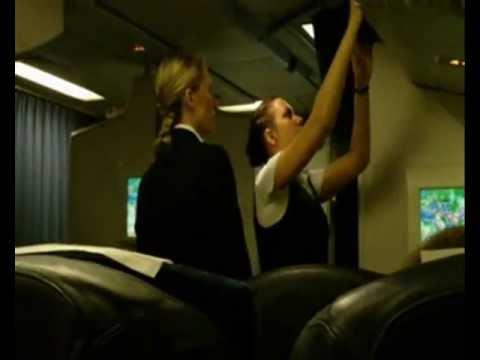 AEROSVIT VV АероСвіт (Ukraine) Business Class in-flight test long haul Boeing B 767 - 300 ER