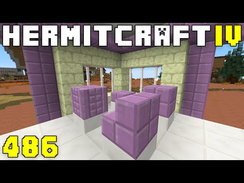 Hermitcraft IV 486 Elytra Flight & Purpur Shop
