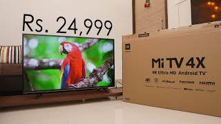 Mi TV 4X (43) review, kya aapako yah khareedana chaahie? is it Best 4K TV for Rs. 24,999?