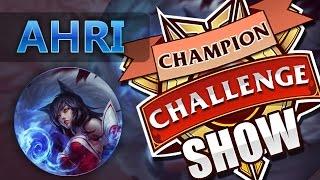 CHAMPION CHALLENGE SHOW   AHRI #2 ROBAR, ROBAR Y ROBAR