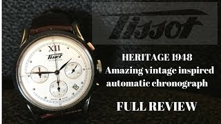 This Tissot Heritage 1948 Chronograph is a Stunner - Review