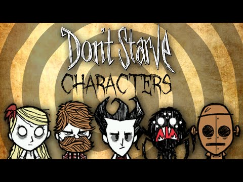 All Characters - Don't Starve