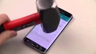 Rompiendo y destrozando Samsung galaxy S6 Edge (Prueba de resistencia)