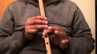 """O Sajana Barkha Bahar Aai hindi song on flute - """"Travails with my flute"""""""