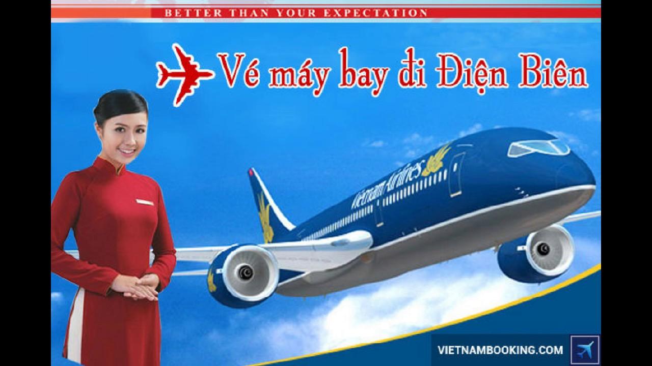 Giá vé máy bay Vietnam Airlines Hà Nội Điện Biên
