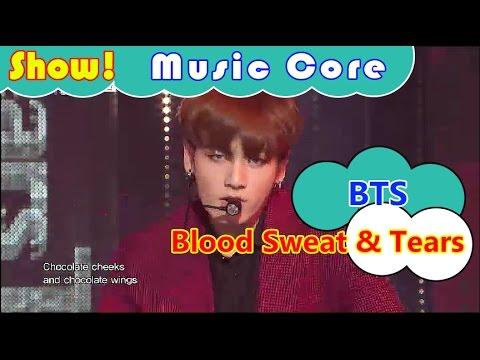 [HOT] BTS - Blood Sweat & Tears, 방탄소년단 - 피 땀 눈물 Show Music Core 20161029