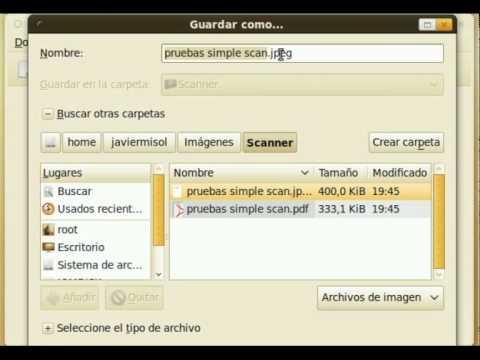 Simple Scan 1 0 3 for Ubuntu 10 04 LTS