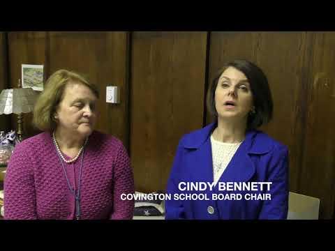 Johnson, Bennett Talk About Covington School Board Salary Move