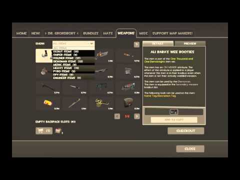 How To Buy Items In TF2 - Mann Co. Store (HD)