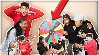 EXTREME SPIN THE MYSTERY WHEEL CHALLENGE Ft. JAZZ & TAE!!! ( 1 SPIN = 1 DARE)