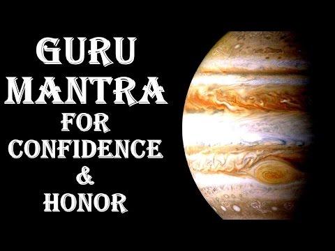 GURU/JUPITER MANTRA: VERY POWERFUL MANTRA TO BOOST CONFIDENCE & HONOR