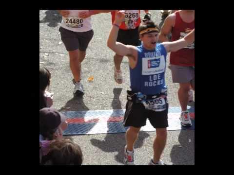 Chris Bruno's 2009 Marine Corps Marathon Run: Washington DC poster