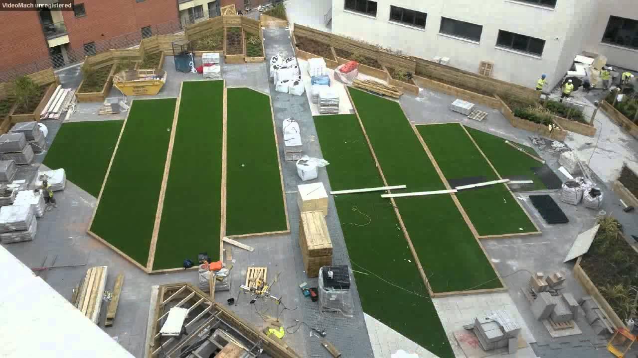 Finsbury Podium Construction Time Lapse Sky Garden Green