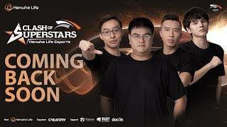 [LIVE] CLASH OF SUPERSTARS - HANWHA LIFE ESPORTS - GROUP STAGE - DAY 5