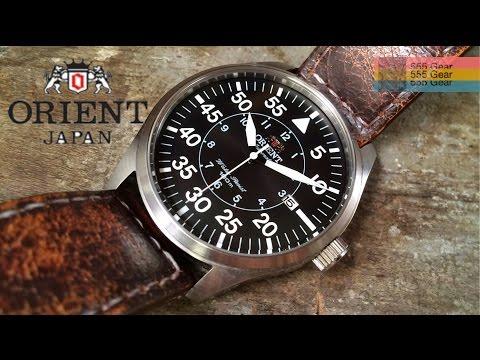 """Review: Orient Flight Pilot Watch """"Germany Meets Japan - $150 Flieger"""" Model FER2A003B0"""