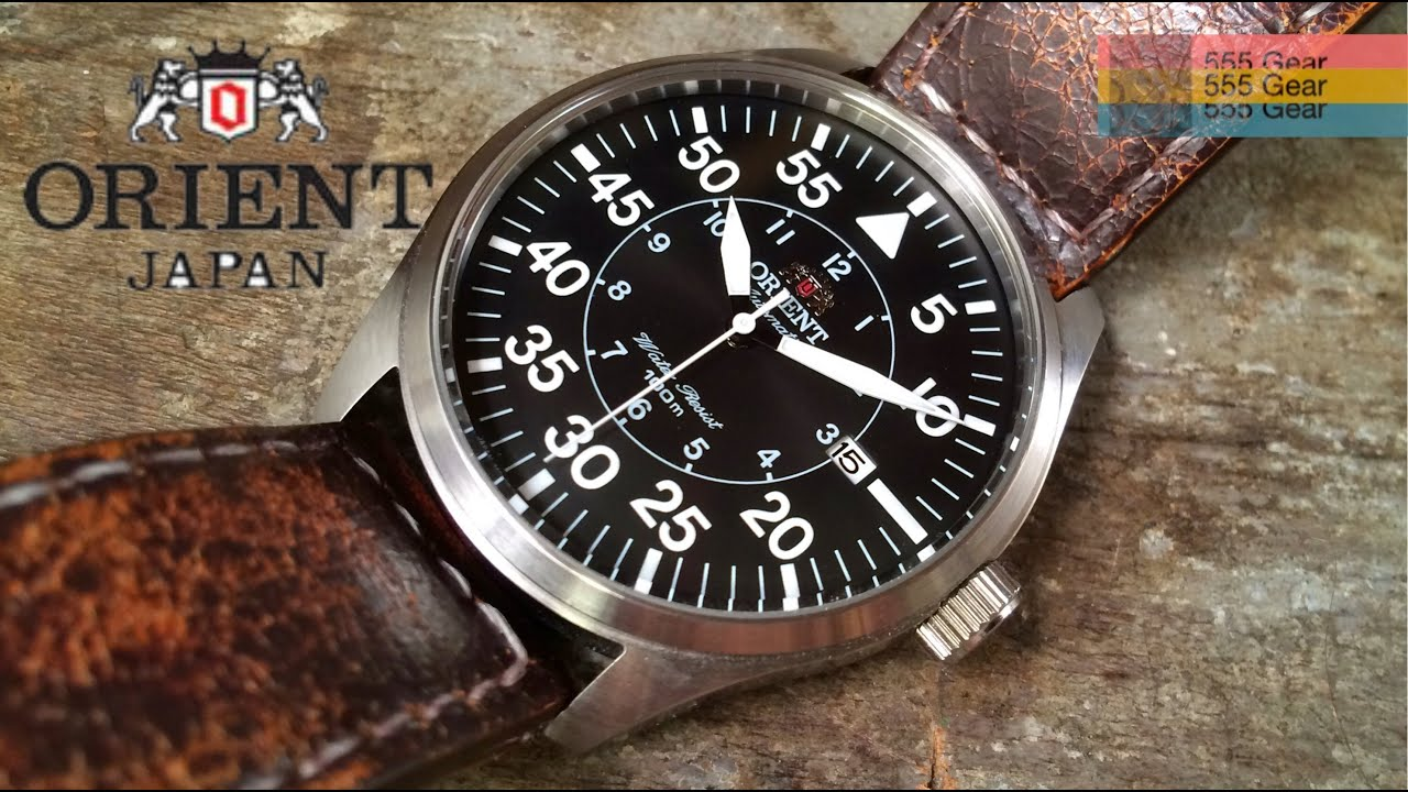watches pilot germany meets flieger youtube orient japan model flight review watch