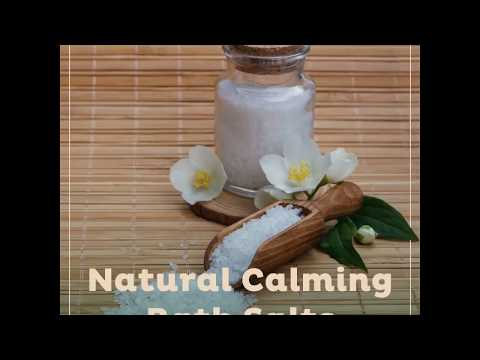 Natural Calming Bath Salts