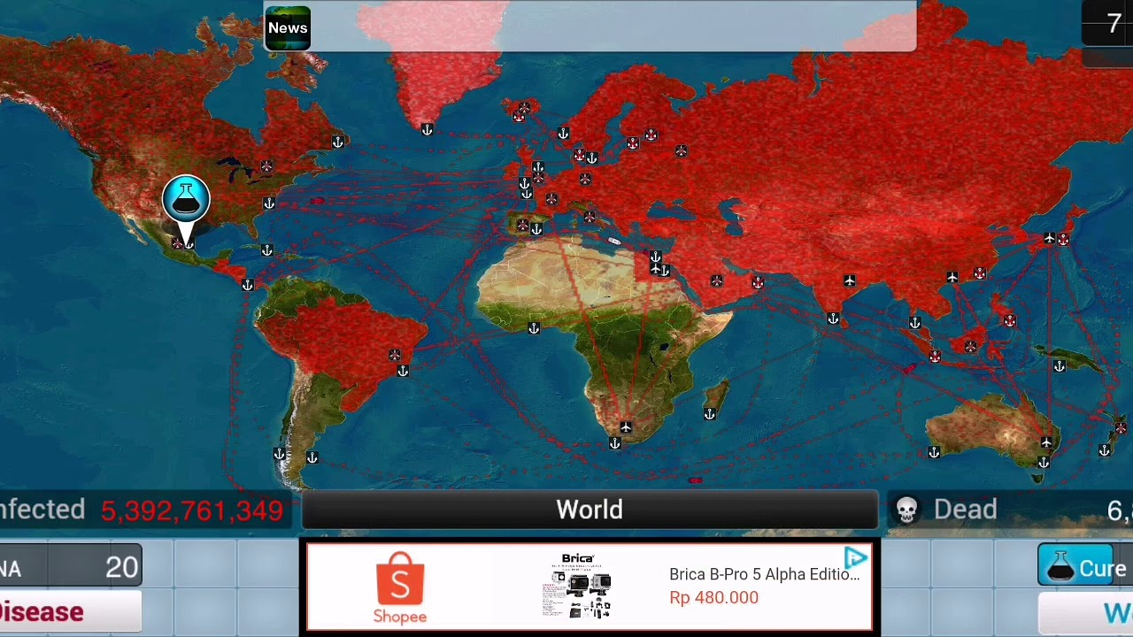 I infected Greenland!!! (plague Inc) - YouTube