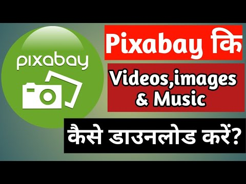 How to download videos,images and music from pixabay?
