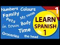 Learn Spanish for beginners:  Lesson 1
