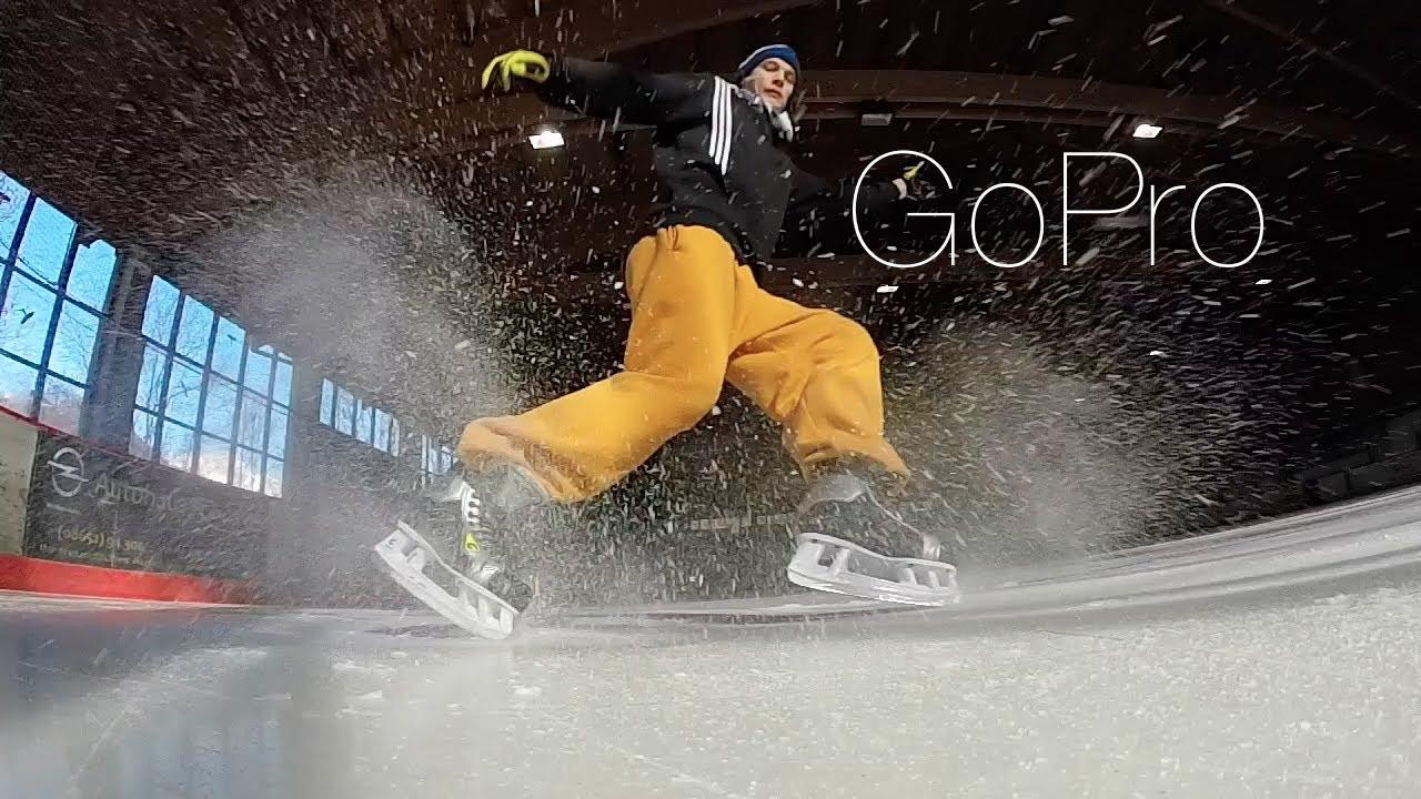Freestyle Ice Skating | Gopro Edition - YouTube