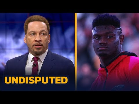 Zion's debut was 'the biggest since LeBron James' — Chris Broussard | NBA | UNDISPUTED