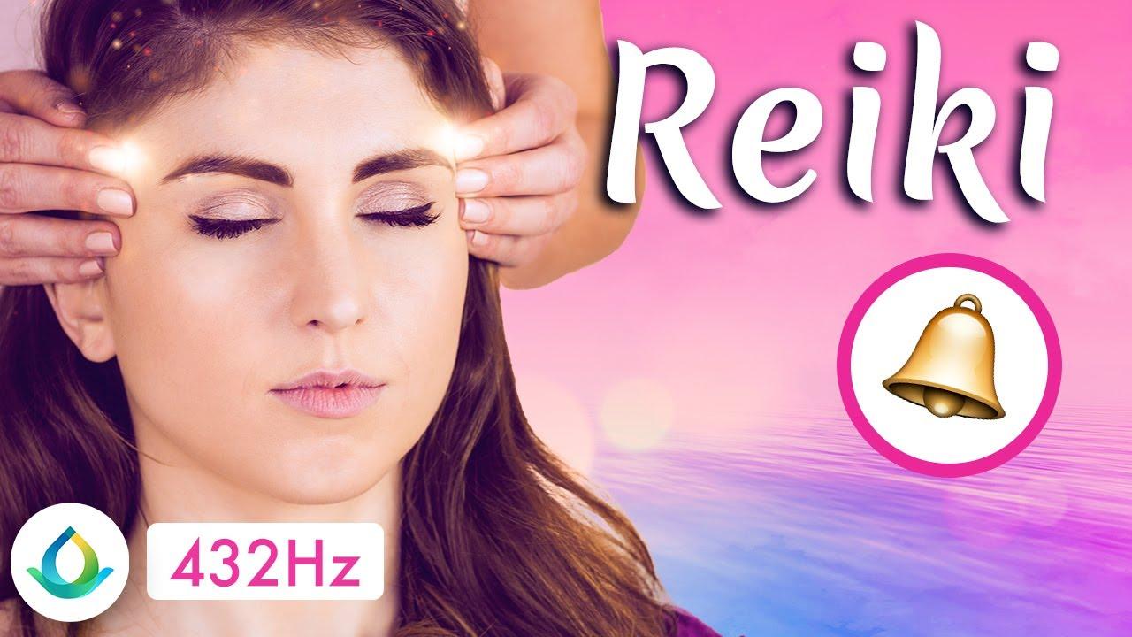"""Musique Reiki Avec Clochette (5 Minutes) 🔔 [432 Hz] - """"Celestial Music"""""""