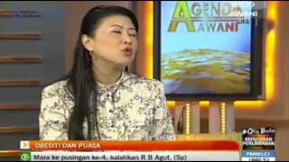 Dr Andrea Ooi was featured as a guest on Astro Awani News Program